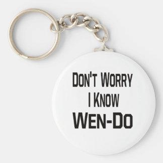 Não preocupe I Know Wen-Fazem Chaveiros