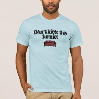 Não retroceda o furnie! camiseta