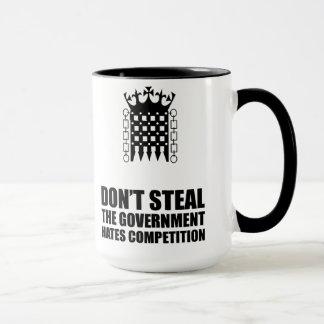 Não roube a caneca das competições dos ódios do