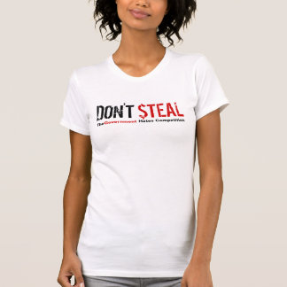 Não roube - a competição dos ódios do governo camisetas