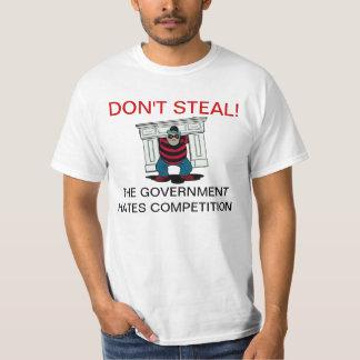 Não roube t-shirt da competição dos ódios do camiseta