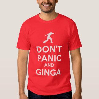 Não se apavora & o t-shirt de Ginga Capoeira