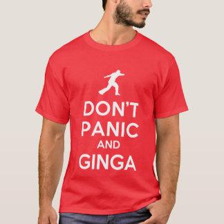 Não se apavora & o t-shirt de Ginga Capoeira Camiseta