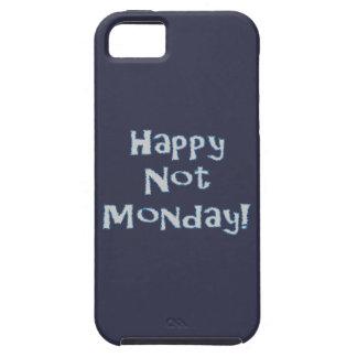 Não segunda-feira feliz! capas para iPhone 5