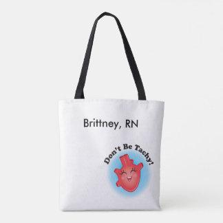 Não seja sacola da bolsa da enfermeira de Tachy