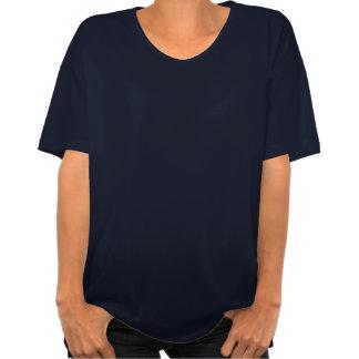 Não seja um t-shirt do marinho da dama de honra