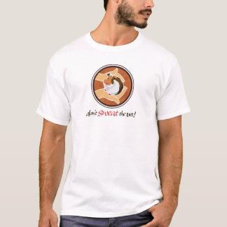 Não sue o veterinário! camiseta