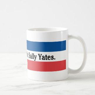 Não suje com a caneca de Sally Yates