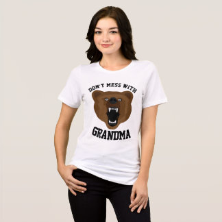 NÃO SUJE COM camisetas engraçadas da AVÓ
