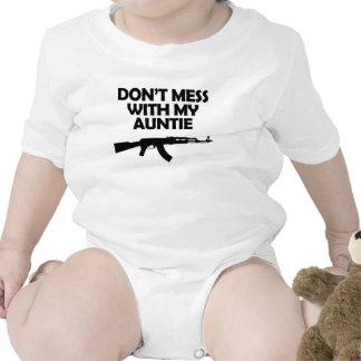 Não suje com meu Auntie Babadores