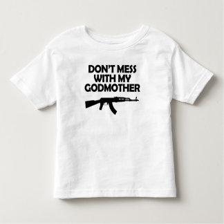 Não suje com minha madrinha t-shirts