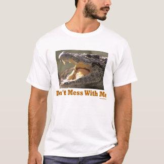 Não suje comigo a camisa de Croc T