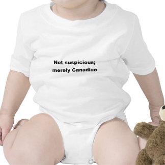 Nao suspeito; meramente canadense macacãozinho para bebê