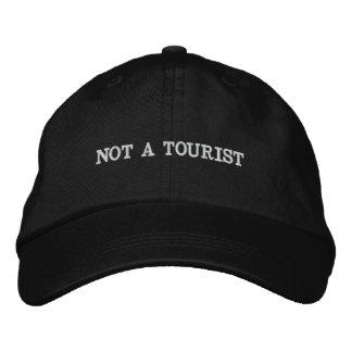 Não um boné do turista