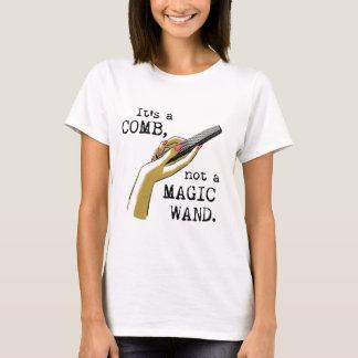 Não uma camisa mágica do cabeleireiro da varinha