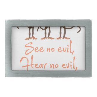 Não veja nenhum mau - para não ouvir nenhum mau -