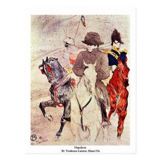 Napoleon por Toulouse-Lautrec Henri De Cartão Postal