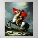 Napoleon que cruza os cumes (qualidade perfeita) impressão
