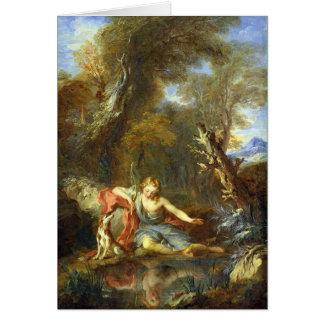 Narciso, 1728 cartões
