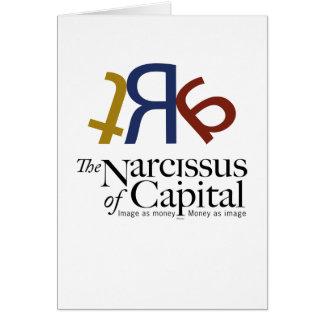 NARCISO do CAPITAL - personalizado Cartão Comemorativo