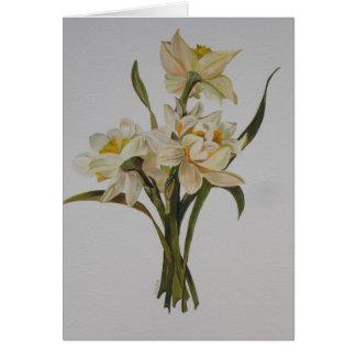 Narciso dobro cartão comemorativo