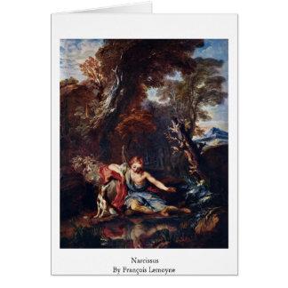 Narciso por François Lemoyne Cartões