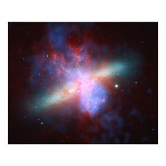 NASA da galáxia M82 Hubble Impressão De Foto