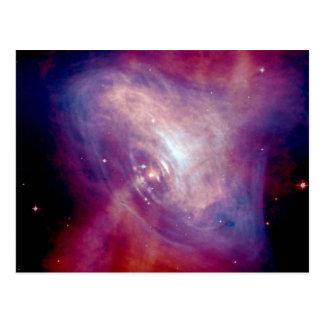 NASA da nebulosa do raio X do caranguejo de Cartão Postal