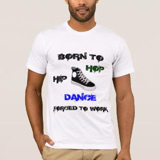 Nascer à camisa da dança de Hip Hop