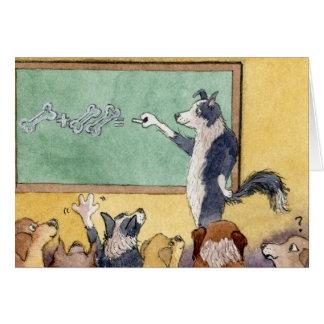 Nascer a ensinar - obrigado, CARTÃO de professor