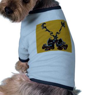 Nascer a escolher neste camisa ringer para cachorro