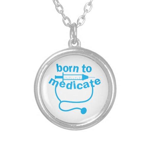 Nascer A MEDICAR com estetoscópio Bijuteria Personalizada