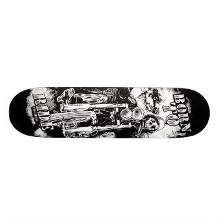 Nascer a montar shape de skate 18,4cm