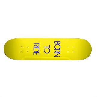Nascer a montar shape de skate 19,7cm