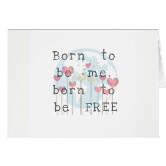 Nascer a ser cartão de Me/Free