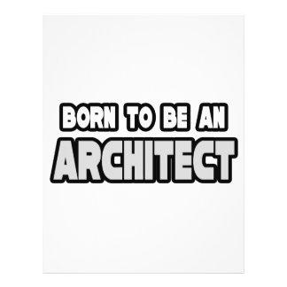 Nascer a ser um arquiteto modelos de panfleto
