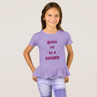 Nascer a ser uma camisa da menina do plissado do