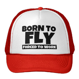 Nascer a voar forçado para trabalhar o chapéu boné