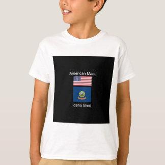 """""""Nascer americano. Idaho produziu"""" bandeiras e Camiseta"""