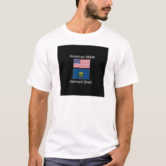 """""""Nascer americano. Vermont produziu"""" bandeiras e Camiseta"""