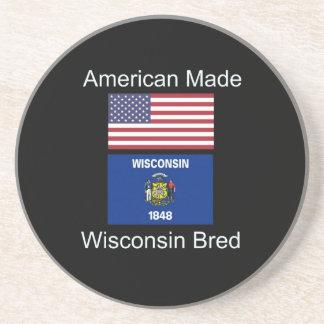 """""""Nascer americano. Wisconsin produziu da"""" o design Porta Copos De Arenito"""