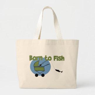 Nascer aos peixes bolsas para compras