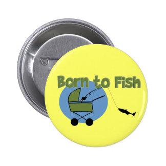 Nascer aos peixes botons