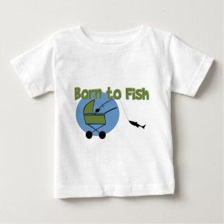 Nascer aos peixes tshirts