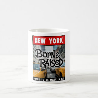 Nascer da Nova Iorque e aumentado Caneca De Café
