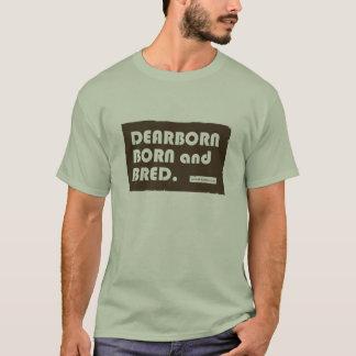 Nascer de Dearborn e T adulto produzido dos SS Tshirts