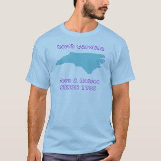 Nascer de North Carolina & aumentado Camiseta