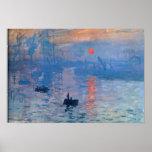 Nascer do sol - Claude Monet Poster