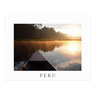 Nascer do sol de Amazon, cartão branco do texto de