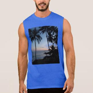 Nascer do sol de Costa Rica Camisetas Sem Manga